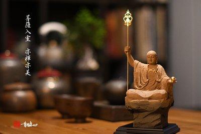 黃添富老師佛像雕塑作品-大願地藏菩薩  精雕細琢創作工房2019最新作品