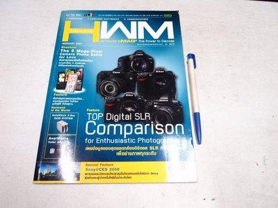 【懶得出門二手書】《HWM Thailand 5 泰文版》TOP DSLR Comparison│八成新(B25E22)