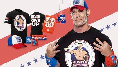 ☆阿Su倉庫☆WWE摔角 John Cena Hustle Loyalty Respect T-Shirt 三信念最新款