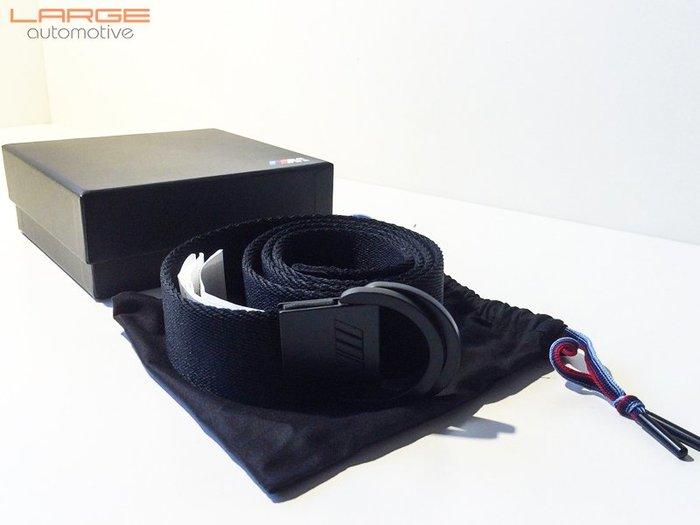 【樂駒】BMW M Collection M款 原廠 生活 精品 黑色 布料 皮帶 Belt 男用 飾品