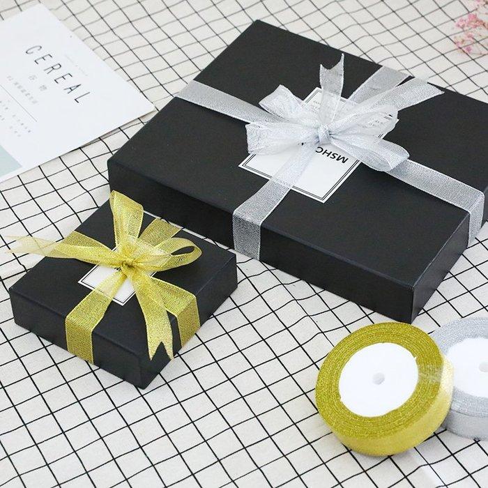 預售款--金銀蔥帶生日禮品鮮花蛋糕盒包裝絲帶婚慶裝飾織帶彩帶2.5CM4CM#禮盒#簡約#彩色帶#裝飾帶#彩色條