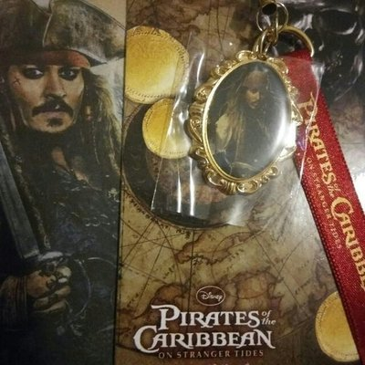 The Pirates of the Caribbean phone strap 魔盜王 加勒比海盜 吊飾 手機繩