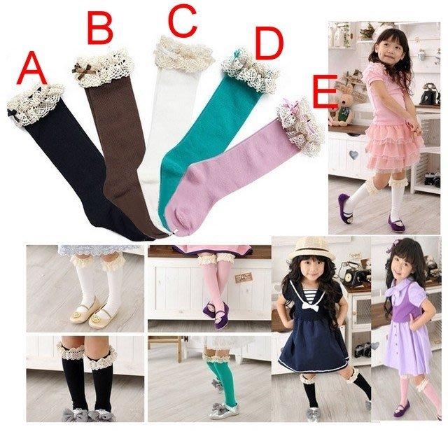 【瑜瑜小屋】甜美《古典蕾絲款》氣質中統襪 (L3-1)