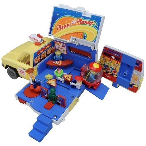 【小不點】TAKARA TOMY TOMICA 玩具總動員 披薩星球貨櫃收納車組