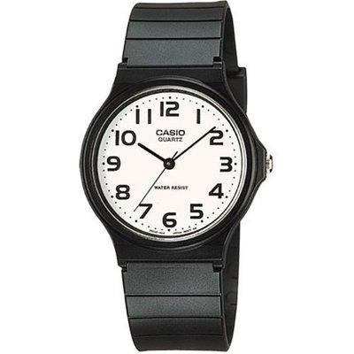 【 精華鐘錶 】CASIO 卡西歐 公司貨 超薄型數字指針學生錶 MQ24-7B2