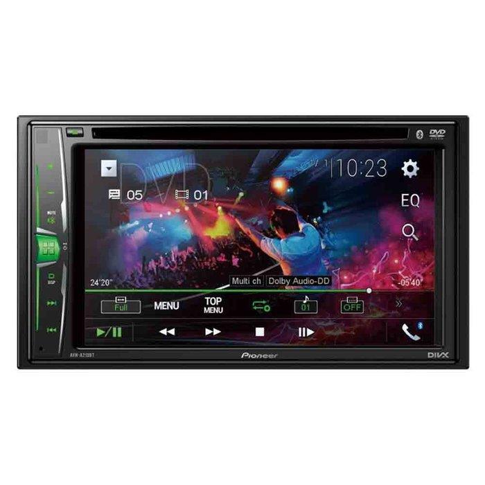 【Pioneer】 AVH-A215BT 6.2吋DVD藍芽觸控螢幕主機