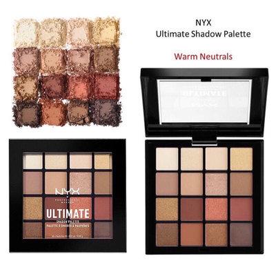 (折扣隨時結束) NYX 16色眼影盤  Warm Neutrals 冬日暖陽大地色 歐美代購