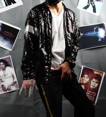 麥可傑克森,Michael Jackson~~ Billie Jean,比利金,黑色亮片外套
