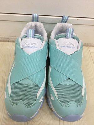 ♔公主城堡♔SKECHERS Air-Cooled 薄荷綠 繃帶鞋