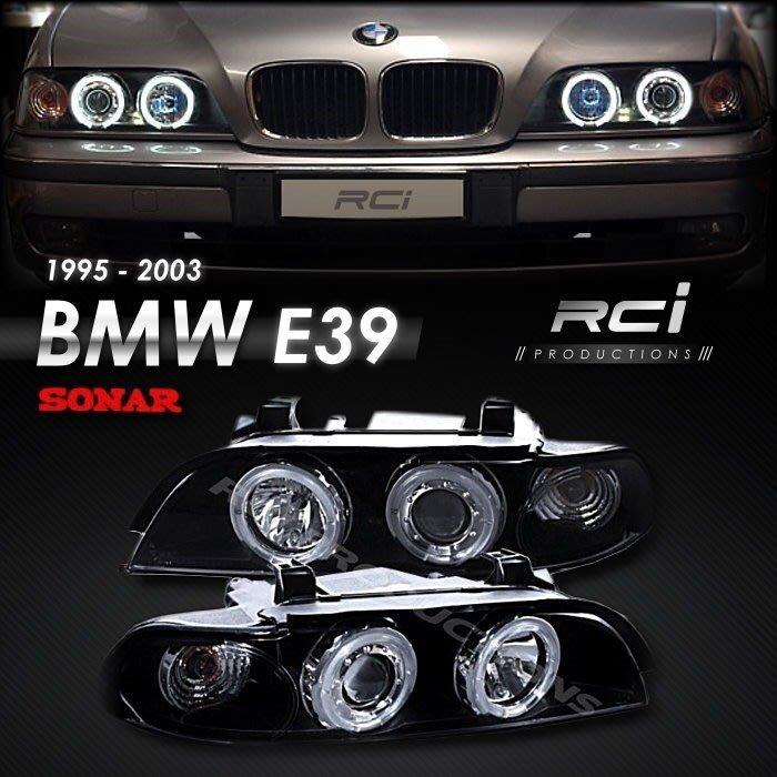 RC HID LED專賣店 BMW E39 1995-2003 高亮度  CCFL 光圈 魚眼大燈 台灣製 SONAR