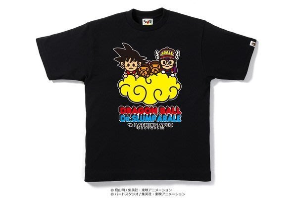 ☆AirRoom☆【現貨】BAPE x DRAGON BALL & DR. SLUMP TEE #2 觔斗雲 丁小雨