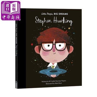 小小孩大夢想 霍金 英文原版 Stephen Hawking 精裝 5-8歲 人物小傳記 名人科普