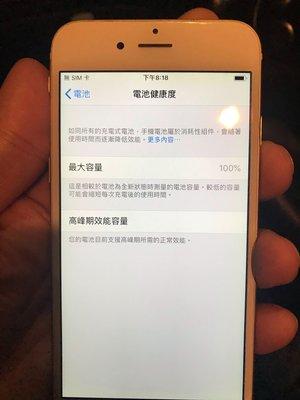 Apple iPhone 6 64GB~金色 二手 台北市
