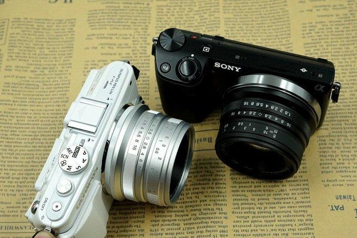 【中壢NOVA-水世界】 NEX 專用25mm F1.8 大光圈定焦鏡頭 支援手動對焦 金屬接環 E-Mount