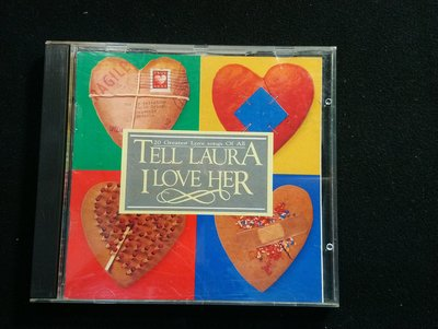 CD/CD/英文/日本東芝盤/20 Greatest love songs of all/Tell laura I love her/非錄音帶卡帶非黑膠