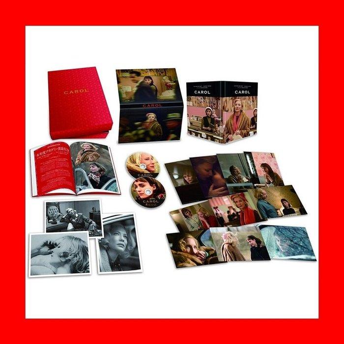 【BD藍光】因為愛妳:雙碟日本限量禮盒版 凱特布蘭琪 魯妮瑪拉Carol因為愛你