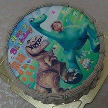 六吋 恐龍 暴龍 迅猛龍 生日 相片 卡通   造型  蛋糕