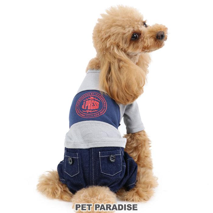 貝果貝果 日本 Pet Paradise 代理 J.PRESS 美式牛仔連身褲 [D13333]