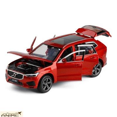 ∞Anime∞1/32正版車模S90/XC60/A4合金汽車模型聲光轉向避震6開門收藏玩具