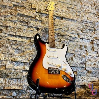 現貨免運 贈千元配件 Fender Squier Bullet Strat 夕陽漸層 經典配置 電 吉他 搖滾 流行