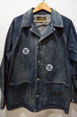 「NSS』NEIGHBORHOOD 20 SAVAGE S.C.C. / C-JKT 牛仔外套 黑 藍 M L