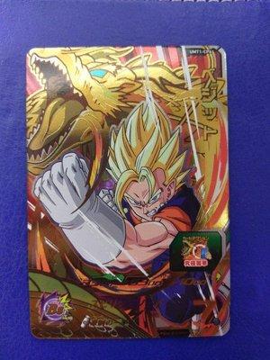 台版 全新正品 七龍珠英雄卡 宣傳卡 CP卡 UMT1-CP6達洛特。台灣機台投下。十分好用的卡片。