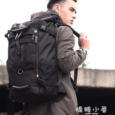 男士雙肩包戶外運動登山包男輕便旅游旅行包多功能背包大容量書包