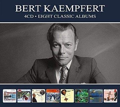 歐版4CD《伯特康姆玻菲特》經典8張專輯/Bert Kaempfert Eight Classic Albums全新未拆