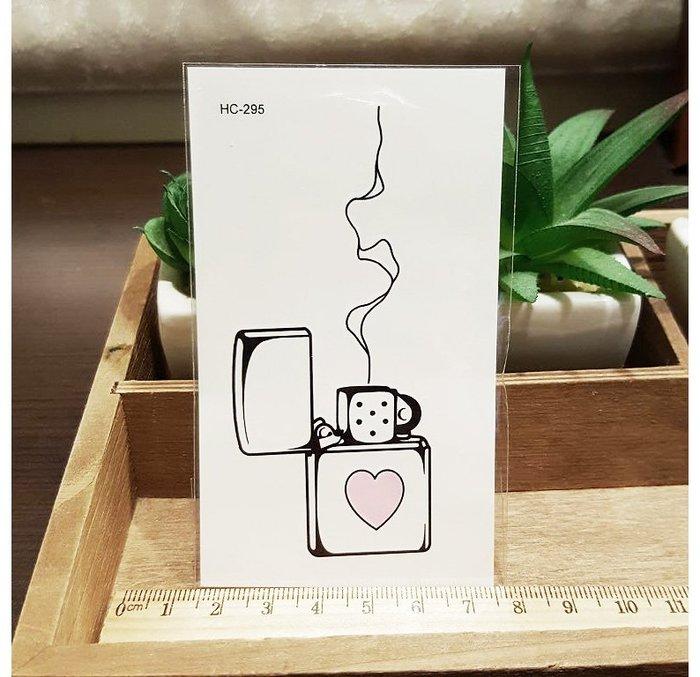 【萌古屋】愛心煙HC-295 - 男女防水紋身貼紙刺青貼紙K12