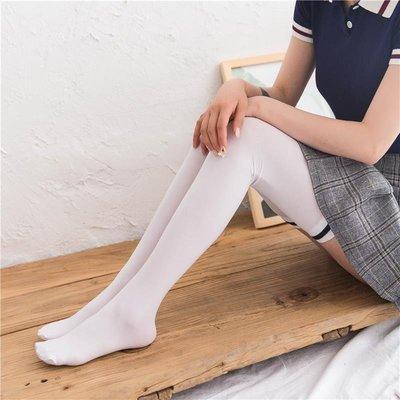 加長天鵝絨過膝襪春夏薄款日系學生白絲襪女高筒襪大腿襪長筒襪子