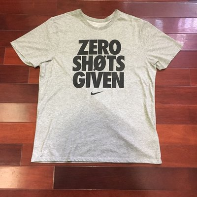 [RiggaLAB] Nike zero shots given 標語 文字 logo T 844568-063