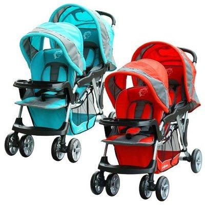 世貿嬰兒用品展促銷no43.~Baby Babe 歐風雙人推車 台北市