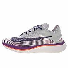 D-BOX  Nike Lab Zoom Fly SP 運動慢跑鞋 訓練鞋 馬拉松 淺灰紫橘 AA3172-104