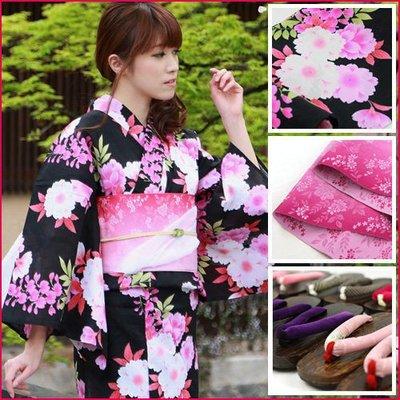和服@日本進口yukata女裝和服裝品牌工作服作業服睡袍休閒服居家服裝浴衣kk