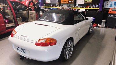 保證正品 Porsche 987 鈦合金排氣管 CaymanS 排氣管改裝 BoxsterS