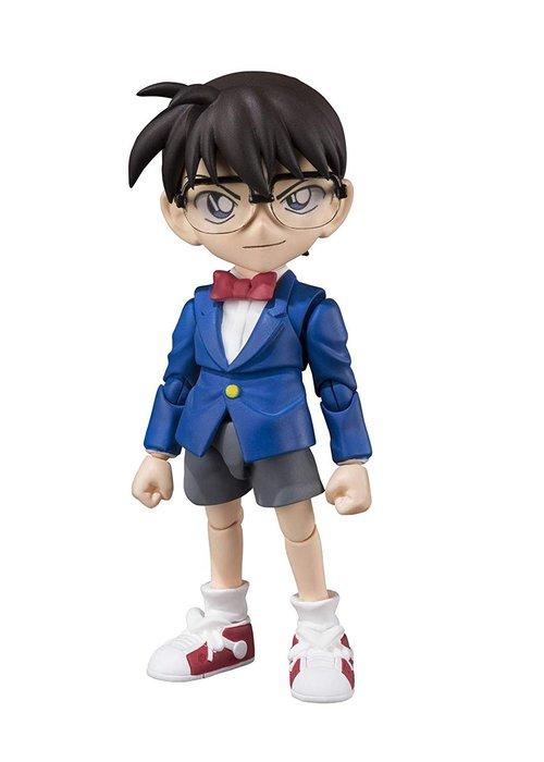 AQI BUY 名偵探柯南 江戶川柯南 ABS&PVC製 可動式 公仔 模型 人偶 玩具 擺飾 日本正版