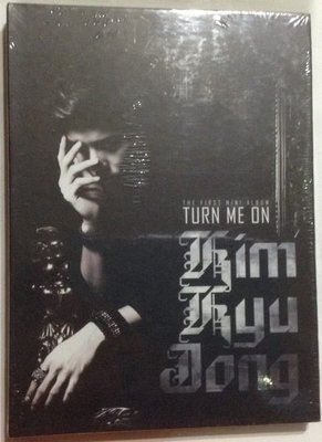 ~拉奇音樂~  SS501-金奎鐘 Kim Kyu Jong  迷你專輯-Turn Me On