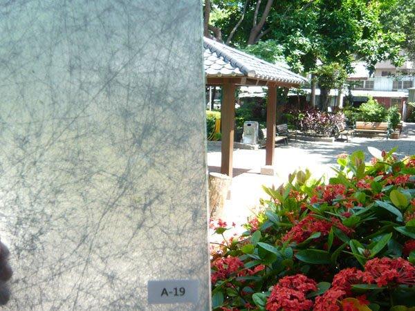 (HF居家隔熱紙) A19夾絲玻璃貼 玻璃貼紙 防水窗貼 落地窗 窗簾 門簾紙 室內設計  壁紙 櫥窗