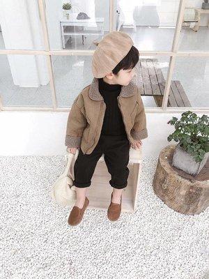 男童長版外套棉小班冬裝正韓寶寶羊羔毛上衣兒童加厚夾克衫潮