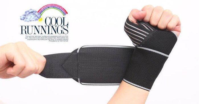 『巷子口93』含發票 aolikes 黑色款 可調式 高透氣 護掌 運動護腕 手腕束帶 纏繞護腕 舉重 羽球 籃球 網球