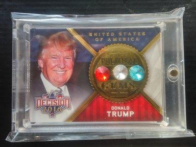 Donald Trump (唐納川普) - 鑽石卡 - 2016 leaf Decision