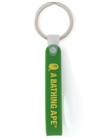 ☆AirRoom☆【現貨】A BATHING APE BAPE RUBBER LOOP KEYCHAIN 鑰匙圈