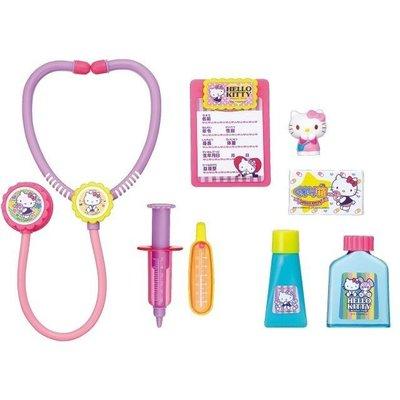 日本 凱蒂貓 Hello Kitty 手提醫生玩具組 扮演遊戲 手提醫藥箱 兒童禮物