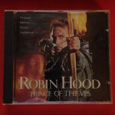 *愛樂熊貓*俠盜王子羅賓漢ROBIN HOOD PRINCE OF THIEVES/德銀圈首版(無ifpi)