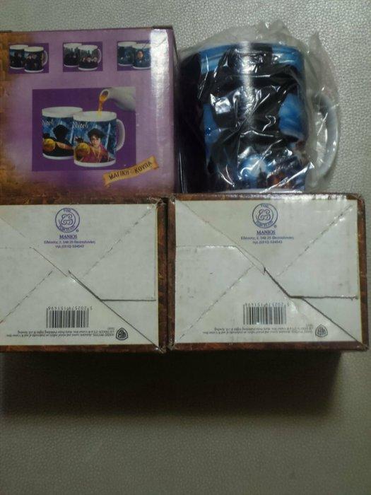 哈利波特 原版變色馬克杯  一組三款  買三送一   全新未使用過