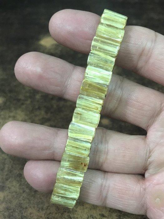 滿絲鈦晶手排 清透料鈦排 (絕無染色)11mm、29g (有影片)