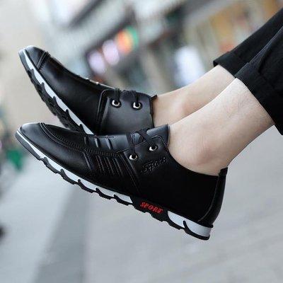 新款豆豆鞋男士休閒鞋懶人鞋透氣潮鞋男鞋商務皮鞋駕車鞋