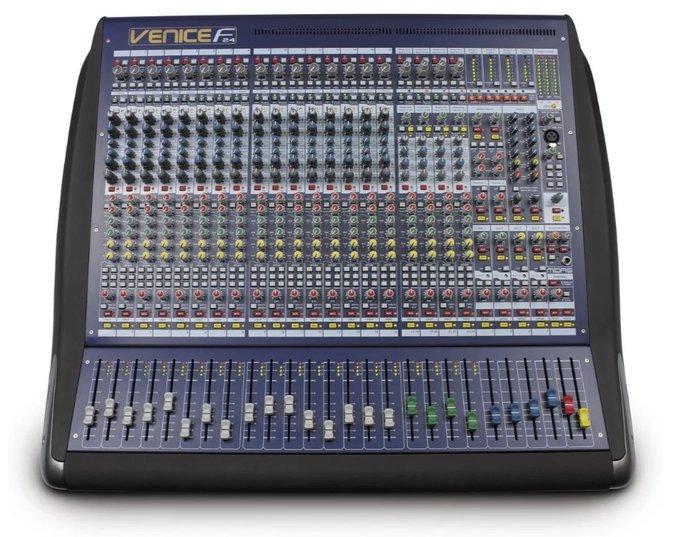 【昌明視聽】Midas VeniceF24  英國專業級 錄音室規格 24音軌混音器