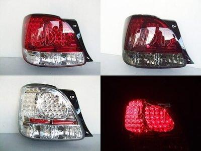 ~~ADT.車燈.車材~~LEXUS GS300 晶鑽/紅白/紅黑LED尾燈一組4300