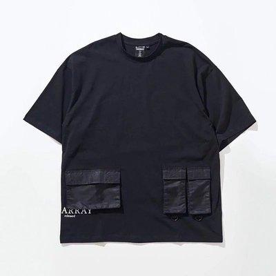 美國東村【DISARRAY】Triple Pocket T-Shirt Crowhurst